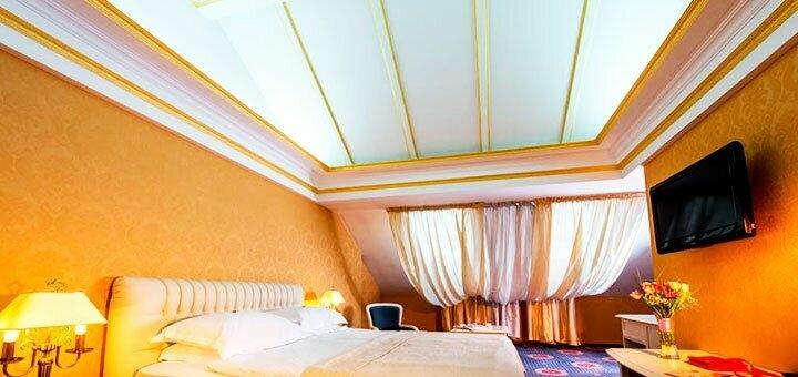 От 3 дней отдыха с трехразовым питанием и SPA в отеле «Киевская Русь» 4* в Сходнице