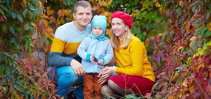 Выездная фотосессия «Семейная» от профессионального фотографа Максима Головко