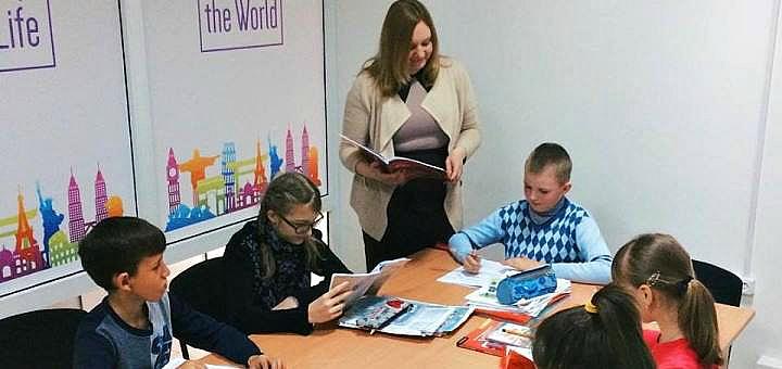 До 3 месяцев изучения английского языка для детей в центре обучения «Level UP»