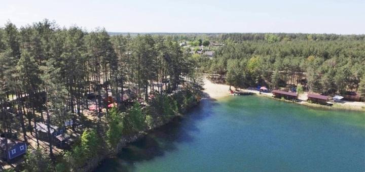 От 3 дней отдыха осенью и зимой в эко-комплексе «Голубые озера» в Черниговской области