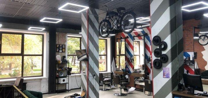 Мужская и детская стрижка, коррекция бороды в салоне мужских стрижек «Project Men»