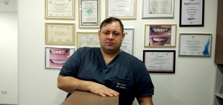 Ультразвуковая чистка зубов, Air-Flow, полировка и фторирование в клинике «Diva Dent»