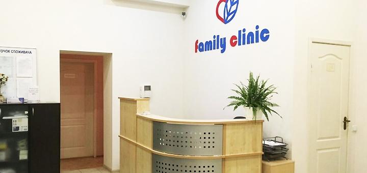 УЗИ всего организма от медицинского центра «Family Clinic»