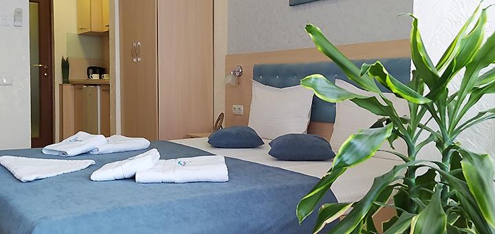 От 3 дней отдыха в ноябре и декабре в апартаментах отеля «Посейдон» на окраине Одессы