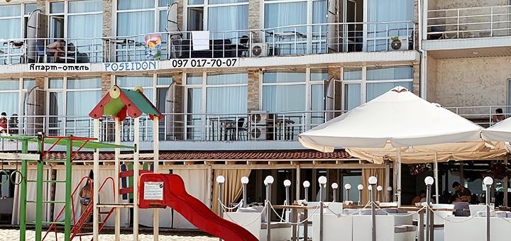 От 3 дней отдыха на Новый Год в апартаментах отеля «Посейдон» на окраине Одессы