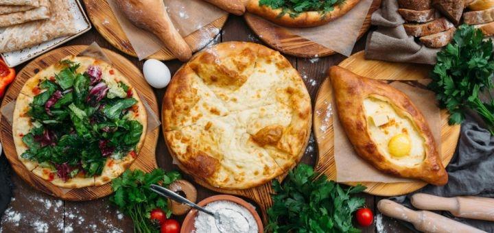 Скидка 50% на меню кухни в кафе грузинской кухни «Грузия Арт»