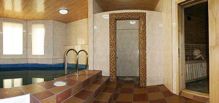 5 дней отдыха на Новый год с завтраками в отельном комплексе «Горный спуск» в Карпатах