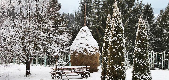 От 3 дней в декабре с завтраками и пакетом услуг в пансионате «Славский» во Львовской области