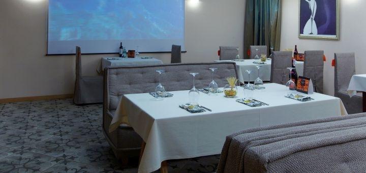Скидка 50% на меню кухни и бара в ресторане «Osteria Pinoccio»