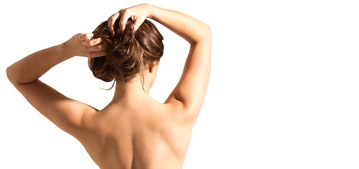 Чистка спины с пилингом от дерматокосметолога Марии Лапиной