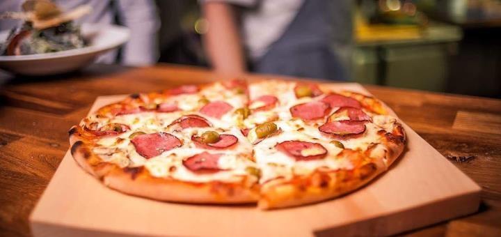 Скидка 50% на все большие пиццы в ресторане «Good Chef»