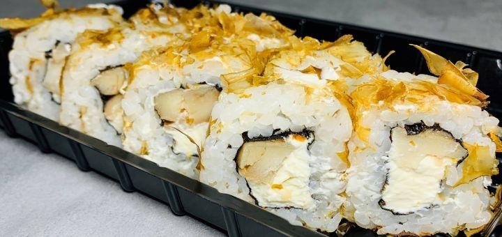 Скидка 50% на все меню суши с доставкой или самовывозом от службы доставки «Only Sushi»
