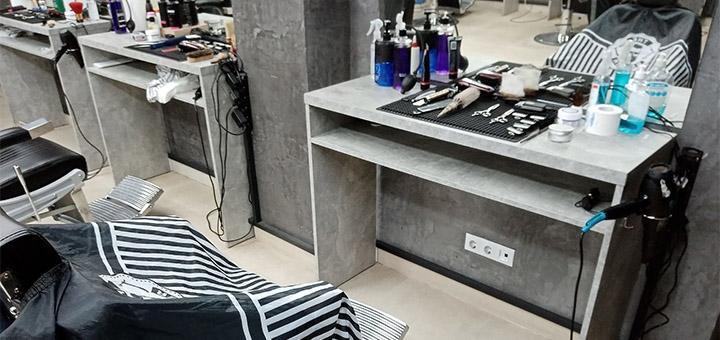 Мужская стрижка с коррекцией бороды или бритье опасной бритвой от барбера Павла Семенюк