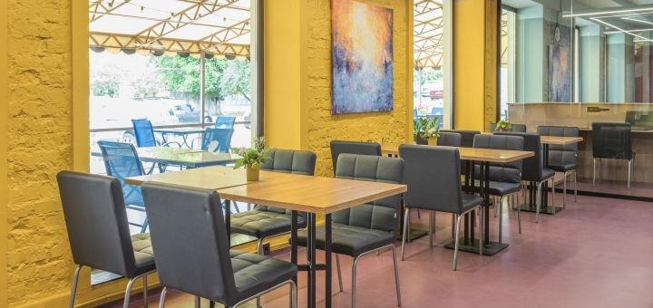 Скидка 40% на все меню кухни в кафе «Yakava Prostir»