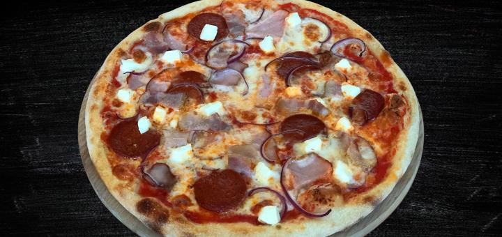 Скидка 50% на все меню от службы доставки «Pizza 29»