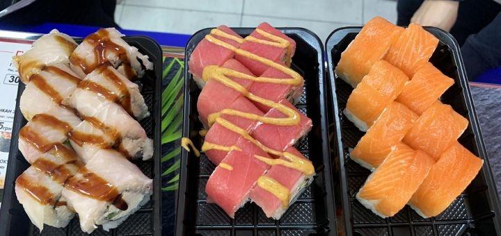 Скидка 50% на меню кухни с самовывозом от суши-бара «Kalifornia»