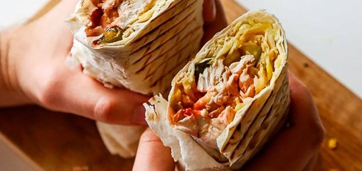 Скидка 55% на все меню кухни и напитков и 30% на алкоголь в сети ресторанов «Burger Club»