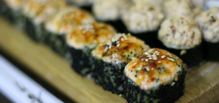 Скидка 60% на килограммовый сет «Чёрный дракон» в магазине «Суши Сет»