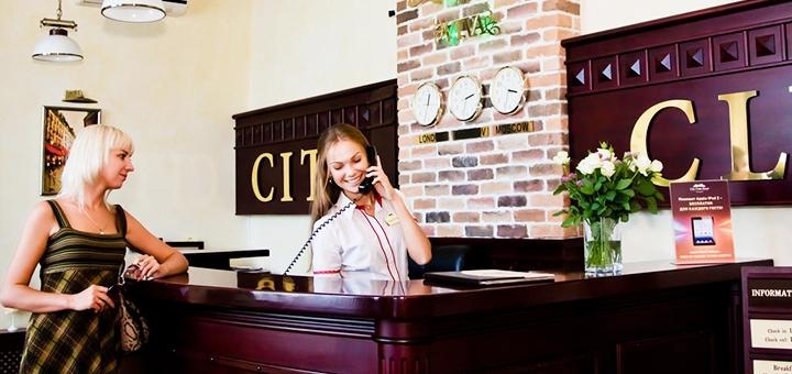 От 2 дней отдыха с завтраками в гостинице «City Club» в Харькове