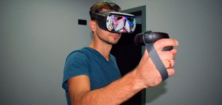 Скидка 60% на игры в виртуальной реальности в клубе «VRoom»
