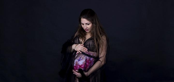 Фотосессия для женщин в положении «В ожидании чуда» от фотографа Ирины Санжаровской