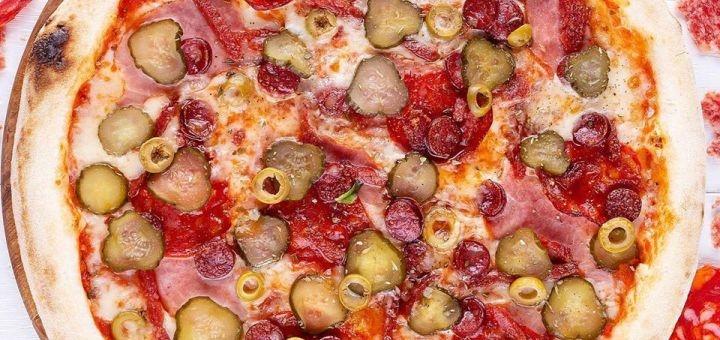 Скидка до 55% на суши-сеты, WOK и пиццу от службы доставки «LeoPizza»