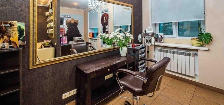 Шатуш, балаяж, кератиновое выравнивание со стрижкой и укладкой в салоне красоты «Ansi beauty»