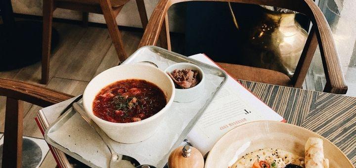 Скидка 40% на все меню кухни в кафе «Immigrant fine dinner»