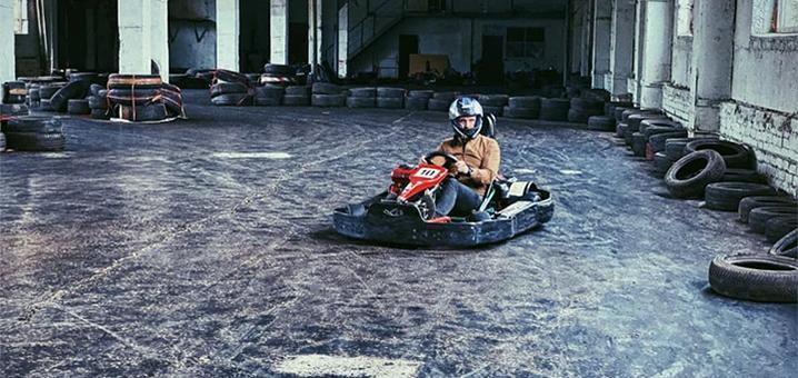 Скидка 55% на заезды на картинге от «Drift Karting»