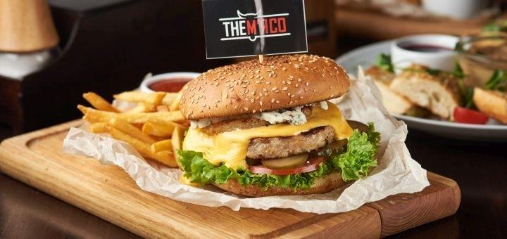 Знижка 50% на основні страви з гарніром, десерти та вафлі та 40% на решту меню у «TheМ'ясо»