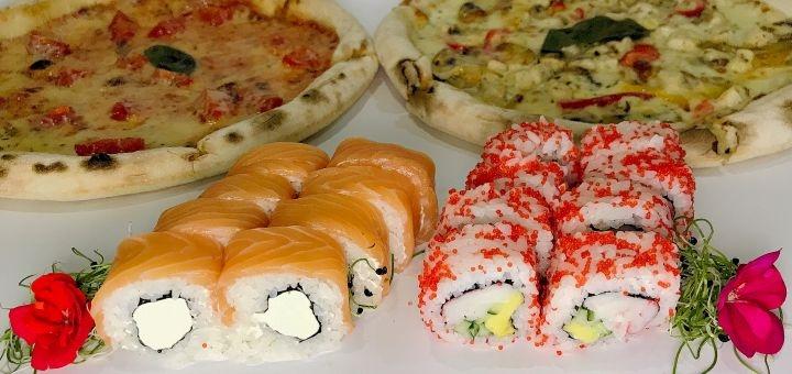 Скидка 50% на суши-сет «Суперсет» и комбо-наборы от службы доставки «LeoPizza»