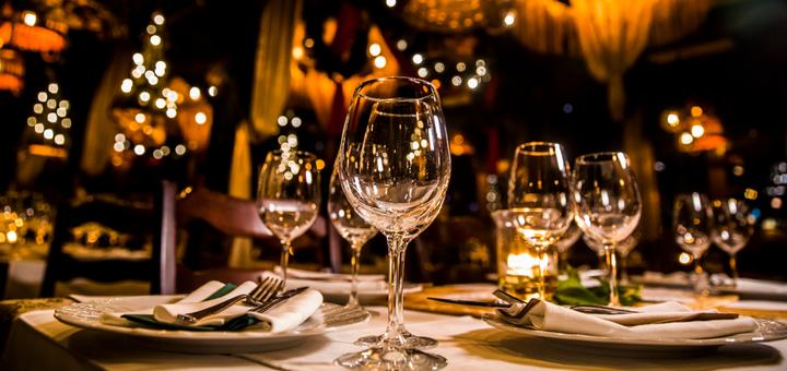 Скидка 30% на все меню кухни в ресторане «Golf Stream»