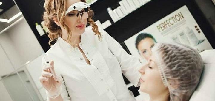 Скидка 50% на контурную пластику губ и носогубных складок в кабинете Юлии Меньшиковой