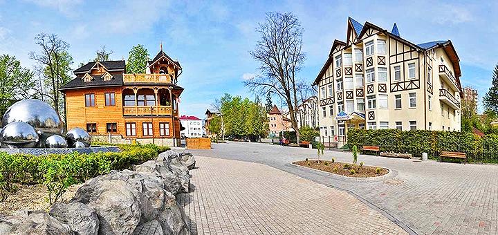 От 3 дней отдыха в ноябре и декабре с питанием в отеле «Villa Anastasia» в Трускавце