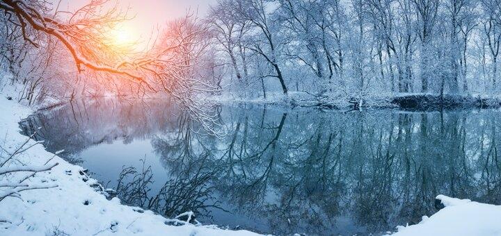От 3 дней отдыха на Рождество в эко-комплексе «Голубые озера» в Черниговской области