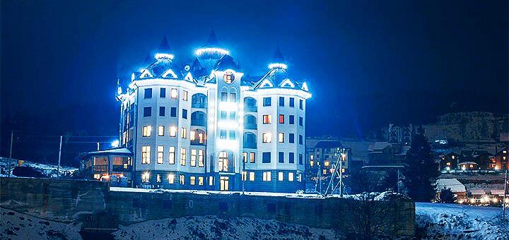 От 3 дней отдыха в декабре с завтраками и SPA в отеле «Mardan Palace 4*» в Буковеле