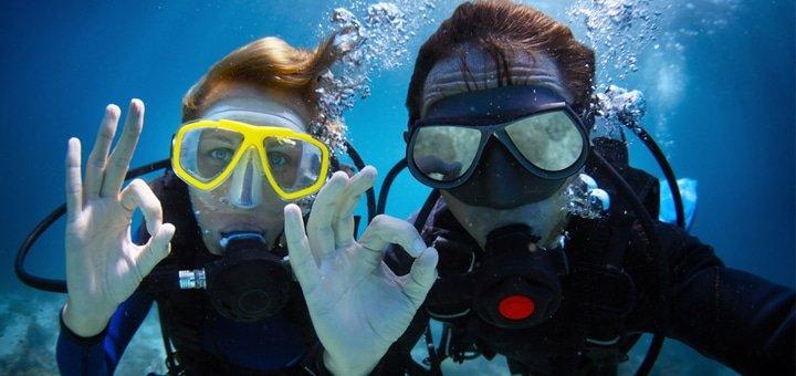 Скидка до 53% на занятия дайвингом в «Submarine Club»