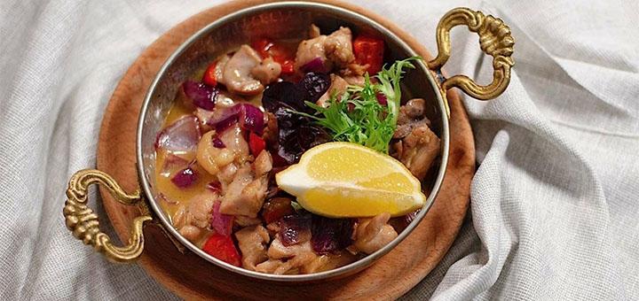Скидка 55% на все меню кухни в грузинском ресторане «Хинкали & Хачапури»