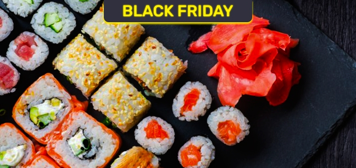Скидка 50% на меню кухни, суши, пиццу, бургеры, WOK и подарок с доставкой или самовывозом от «Instafood»