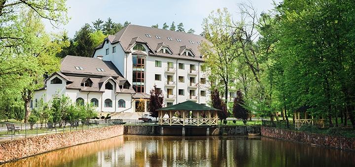От 3 дней отдыха с трехразовым питанием и SPA в отеле «Солотвино Резорт» в Закарпатье
