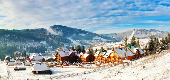 От 3 дней отдыха в декабре с завтраками и SPA в отеле «Podgore Spa & Resort» в Буковеле