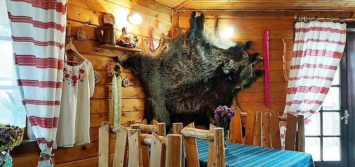 От 3 дней отдыха в декабре с питанием в коттедже «Колыба Колорит» в Татарове
