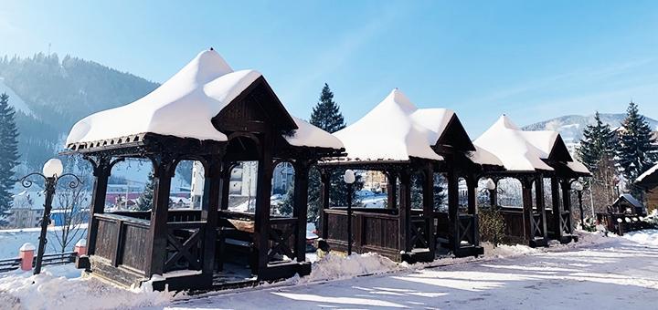 От 4 дней отдыха в декабре с завтраками в отеле «Горный Кристалл» в Буковеле