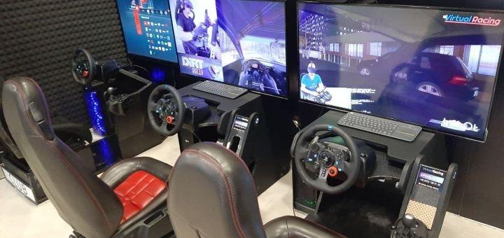 Скидка 60% на один час игры на аттракционе «Virtual Racing» от «Fatality Club»