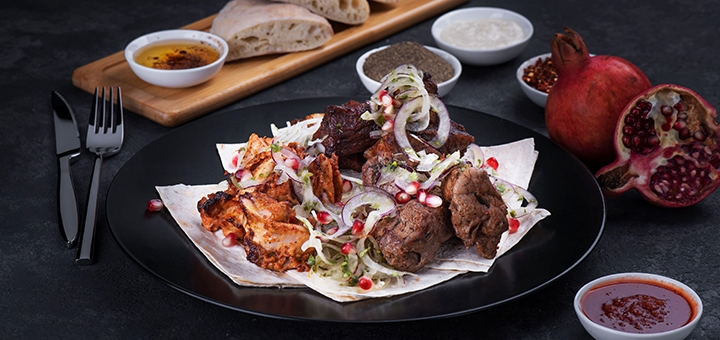 Скидка 55% на меню кухни от ресторана грузинской кухни «Georgia» на Крещатике