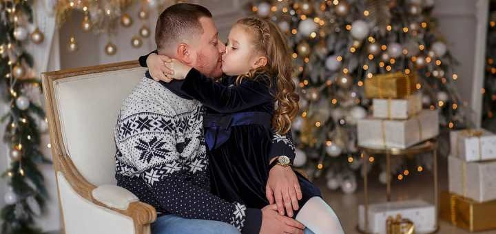 Новогодняя фотосессия «Семейная» от профессионального фотографа Натальи Спивак