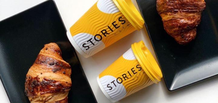 Скидка 40% на меню кухни в ресторане «Stories Cafe»