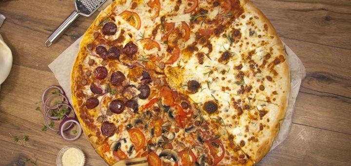 Скидка 50% на суши-сеты и 20% на пиццу от службы доставки «Osava»