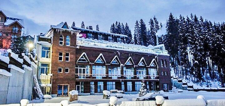 От 5 дней горнолыжного отдыха в середине декабря с завтраками в отеле «Гора» в Буковеле