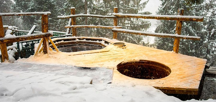 От 4 дней горнолыжного отдыха на Рождество с двухразовым питанием в «Drin-Lux» в Славском